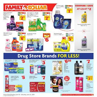 ⭐ Family Dollar Ad 6/16/19 ✅ Family Dollar Weekly Ad June 16 2019