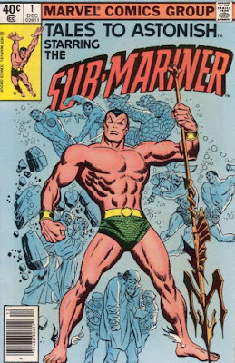Tales to Astonish #1, the Sub-Mariner