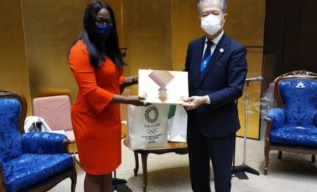 A Tokyo, Dr Bessi-Kama plaide pour le renforcement de la coopération togolo-japonaise dans le domaine des Sports