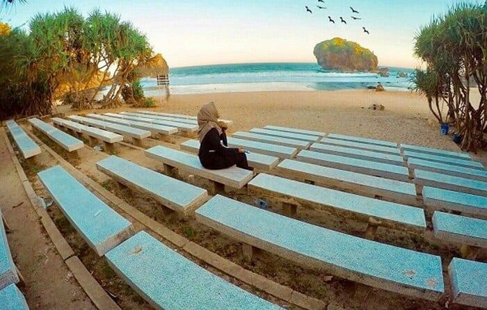 Pantai Jungwok Gunung Kidul-Destinasi Wisata Alam Jogja Terhits