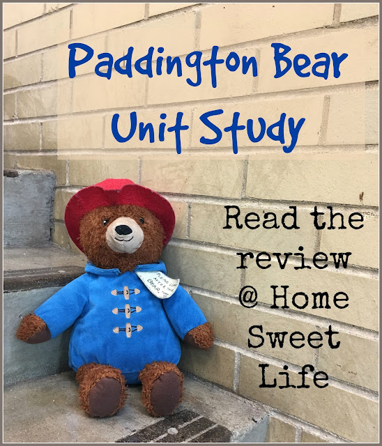 lit-based unit studies, Michael Bond, Paddington, marmalade
