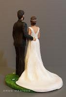 Cake topper personalizzato realizzato a mano