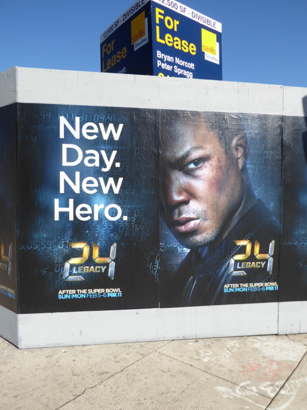 24 Legacy series launch street posters