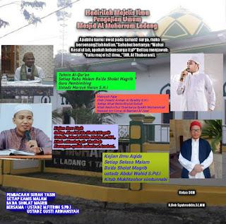 Hadirilah Pengajian Umum Majelis Ilmu di Masjid Al Muharram Ladang Tarakan - Kajian Islam Tarakan