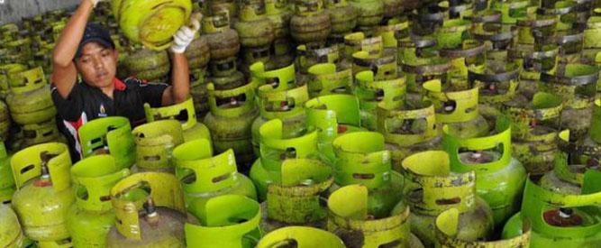 Pimpinan PT. Pemantik Sumber Pratama (PSP) Andre Talahatu mengatakan permintaan elpiji 12 kg di Kota Ambon dan beberapa kabupaten lain di Maluku masih normal.