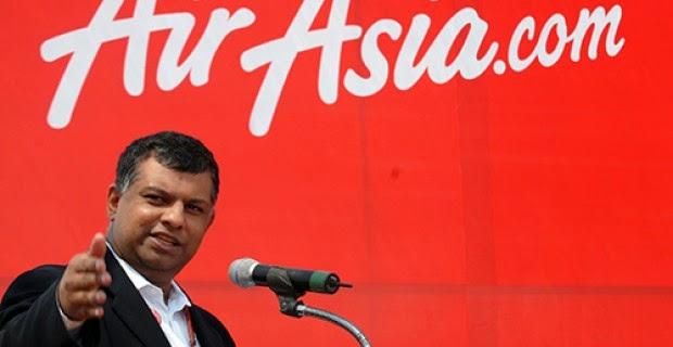 El Director de AirAsia se deshace de acciones de la compañía días antes de la desaparición del vuelo QZ8501