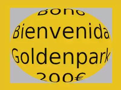 Bono bienvenida casino goldenpark 200 euros efecto lente