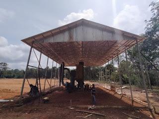 Membuat atap baja ringan untuk pabrik