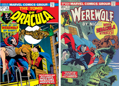 Tomb of Dracula #18 & Werewolf by Night #15.