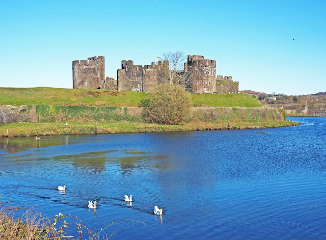 What to do in South Wales Caerphilly Castle Body Positive Travel Blogger