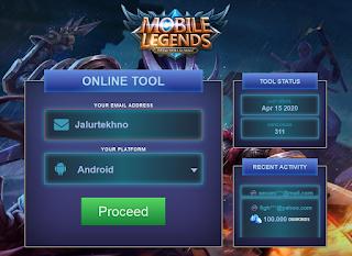 Mobilel .Pro | Cara Hasilkan Free Diamond Mobile legend Via mobilel.pro online tool