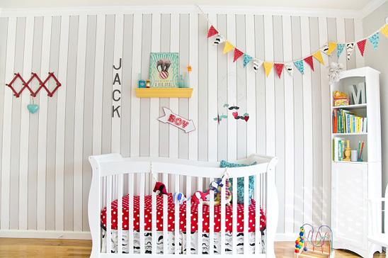 Un dormitorio de bebe a todo color! - Boho Deco Chic