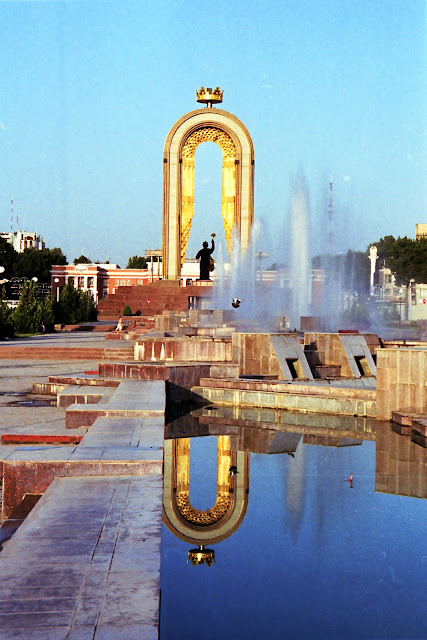 Tadjikistan, Dushanbe, Rudaki, © L. Gigout, 2006