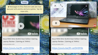 You can Now play YouTube videos Directly from WhatsApp