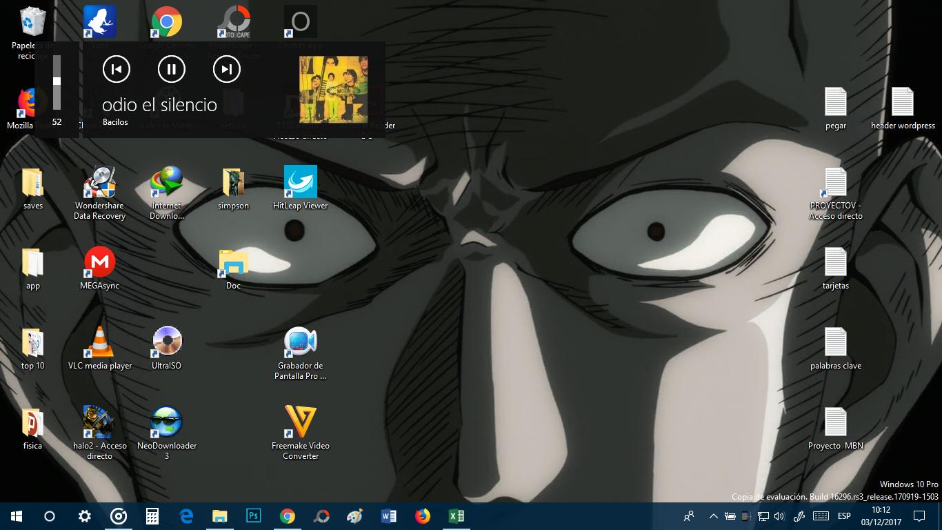 Cómo ocultar la pantalla deslizante de volumen en Windows 10