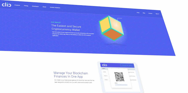 CLIC Technology announces CryptoCurrency Web Wallet