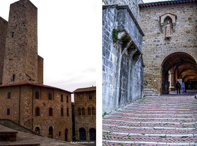 San Gimignano: Piazza Duomo e acesso à Catedral