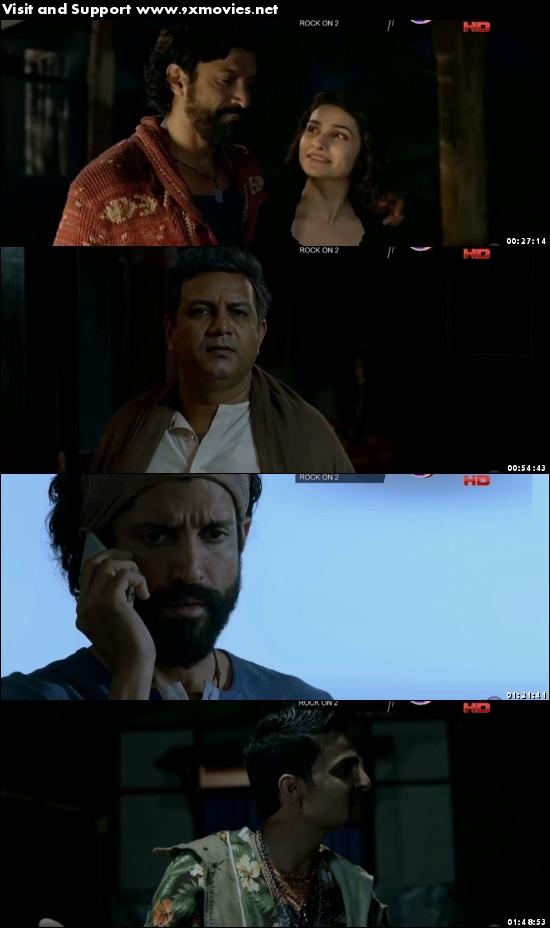 Rock On 2 2016 Hindi 720p DTHRip