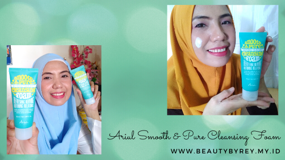 Review Ariul Smooth & Pure Cleansing Foam