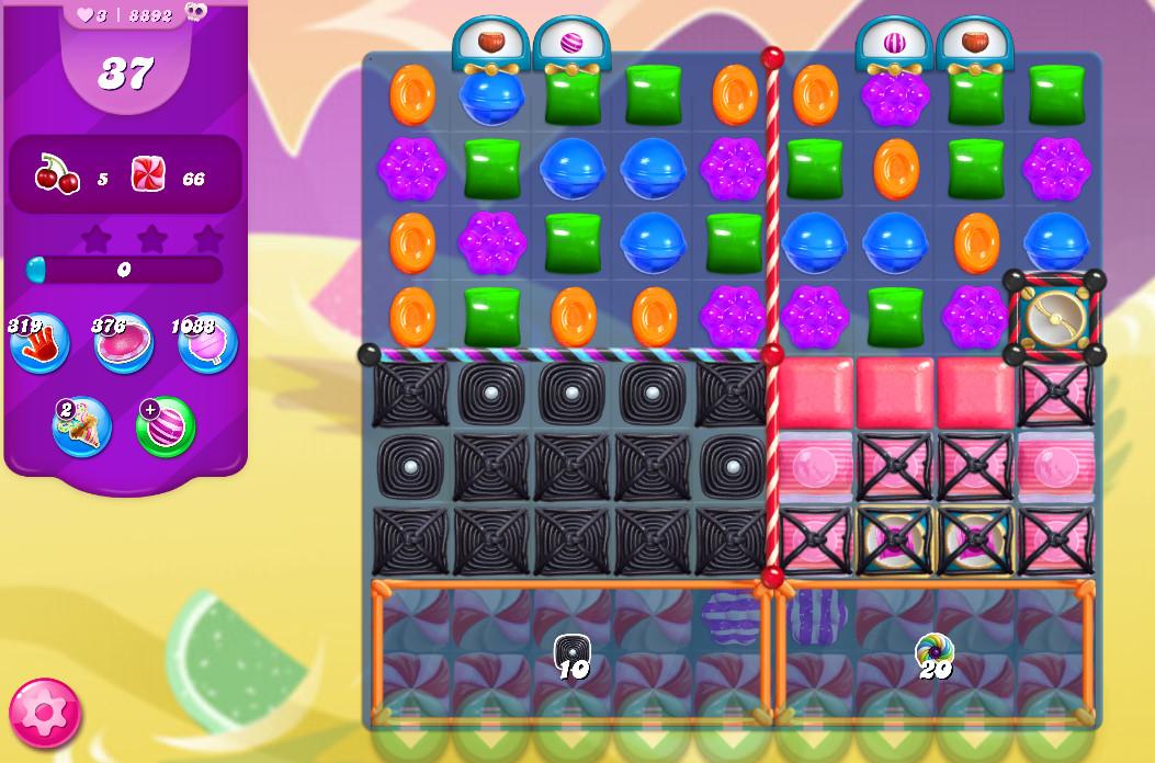 Candy Crush Saga level 8892