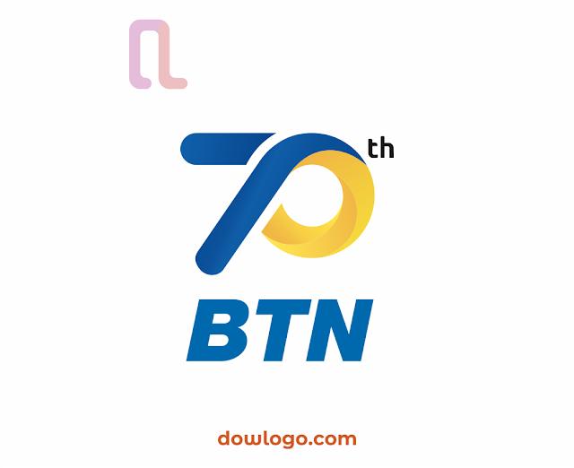 Logo HUT Bank BTN 70 Tahun 2020 Vector Format CDR, PNG