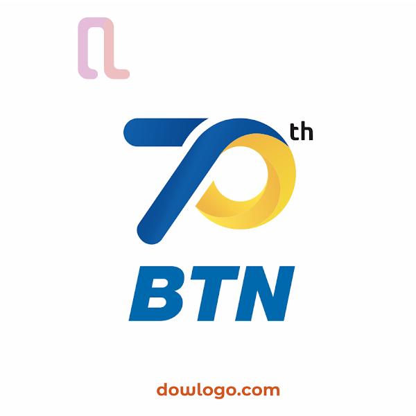 logo hut bank btn 70 tahun 2020 vector format cdr png dowlogo com logo hut bank btn 70 tahun 2020 vector