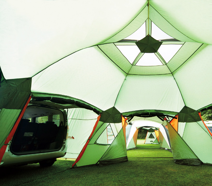 Incredible 16-Person Tent With Dining Area & Car Port Will Change Everything You Know About Camping