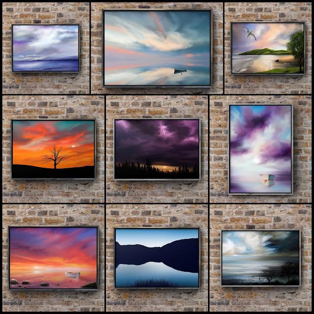 Big Skies art, art collection, Mark Taylor, Artist, Beechhouse Media
