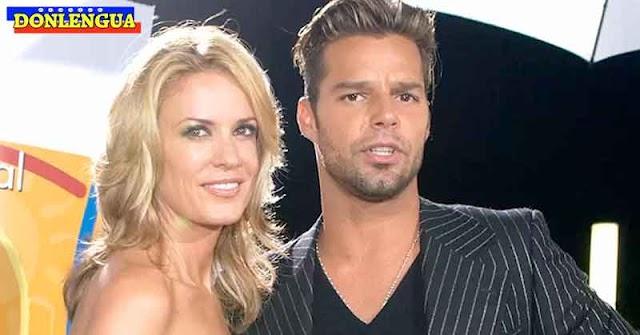 Rebecca de Alba revela que abortó un hijo de Ricky Martin