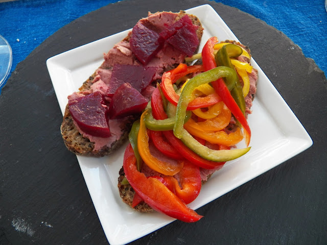 smørrebrød med leverpostej