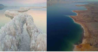 The dead sea is actually a lake