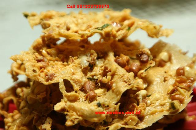 Resep rempeyek kacang nasi box cimanggu ciwidey
