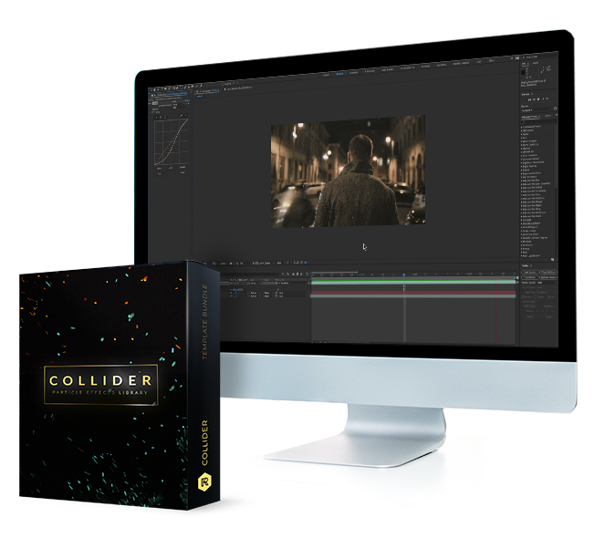 Collider 150+ Particle Effects – RS3040[RocketStock][Motion Element]