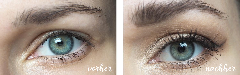 Augen-Make-Up für den Hochzeitstag