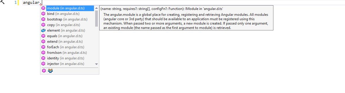 Configuring Typescript for ASP NET CORE Apps