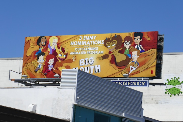Big Mouth 3 Emmy nominations billboard