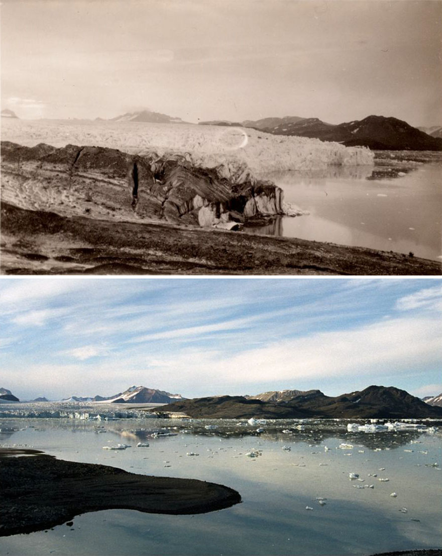 7 Then And Now Pictures That Prove The Tragic Consequences Of Climate Change