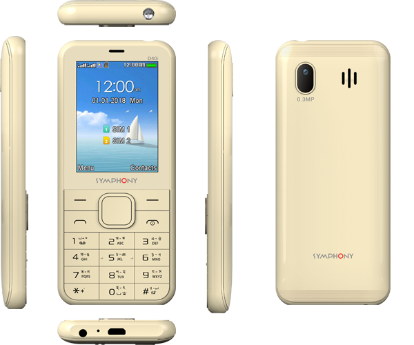 Symphony D40i Highlights Full Specification and Price