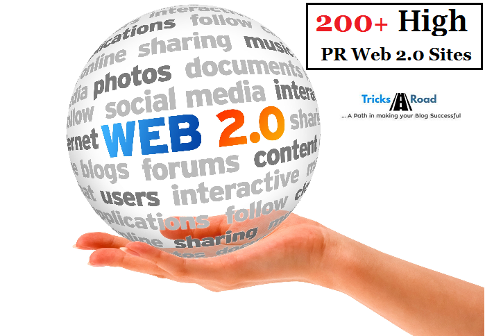 top high pr web 2.0 sites
