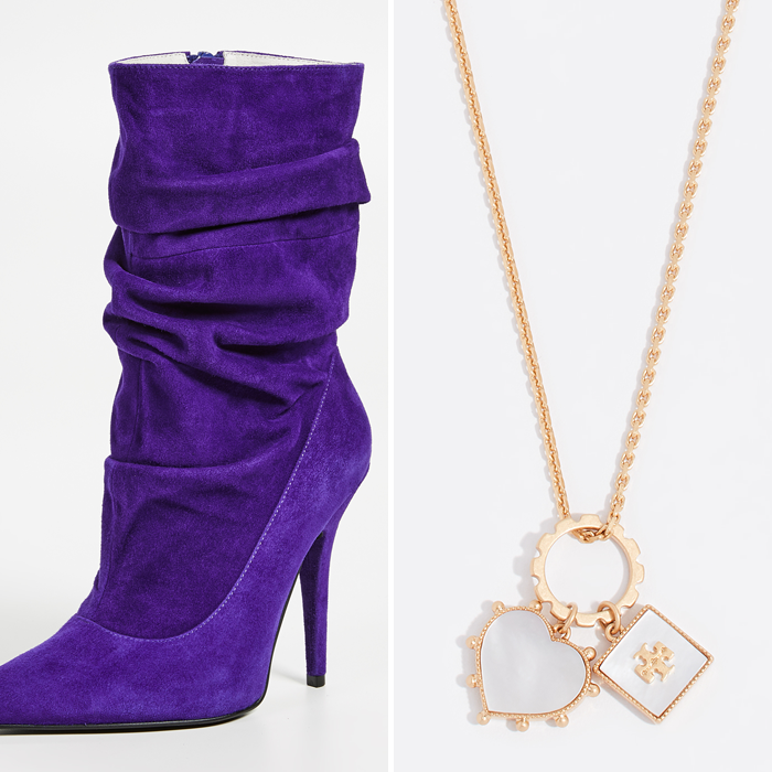 jeffrey campbell boots pendant charm necklace