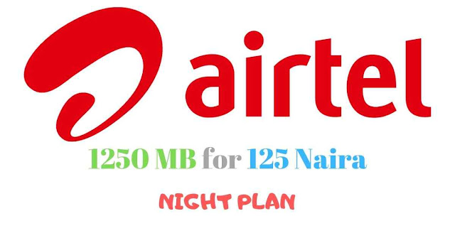 New Airtel Night Plan - 1250 MB for 125 Naira