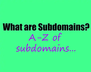 Subdomains-what-why