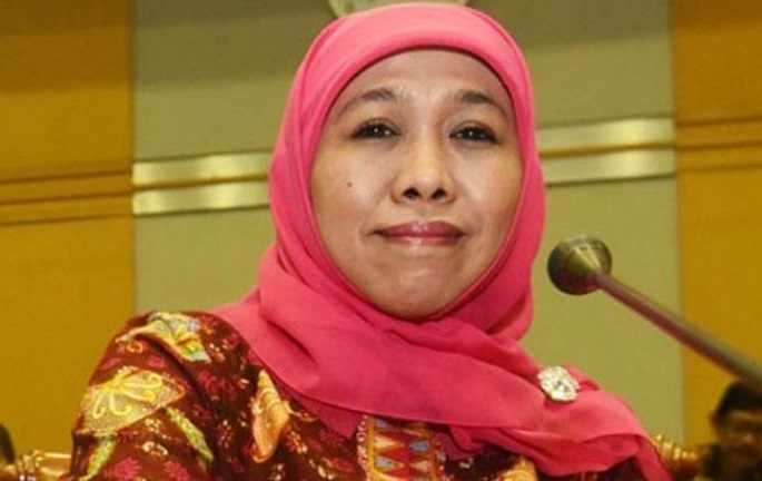 Khofifah: Thank you, General Chairman of the MUI from East Java