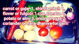 image of veggies for pav bhaji