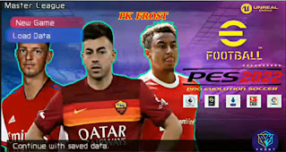Download eFootball PES 2022 PPSSPP CV1 Update Full Transfer And Jersey English Version & New Update Hair 4K