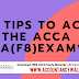 5 tips to Ace the ACCA AA (F8) exam 2020