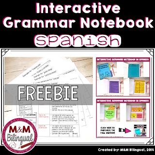 Cuaderno de gramatica