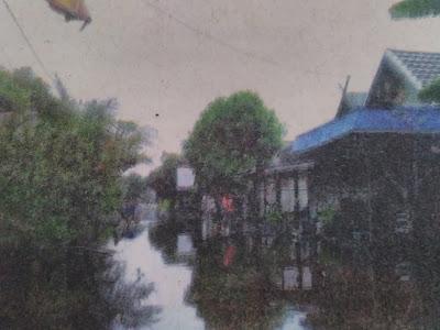 Banjir di Kapuas : Banjir di Desa Dadahup Meluas
