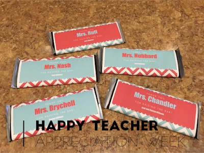 Teacher Appreciation Week Day 2: Ideas, Freebies, and Giveaway