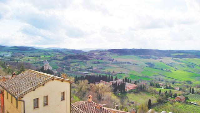 Montepulciano en La Toscana